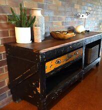 Antique Industrial restored workbench sideboard buffet 2m Paddington Brisbane North West Preview