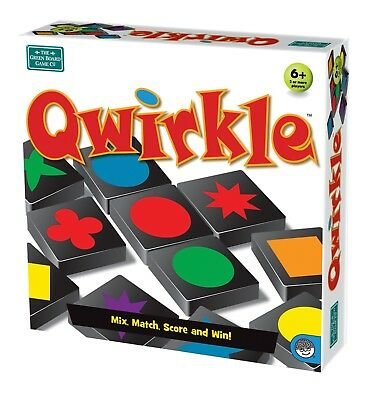 Qwirkle Board Game | MENSA Award Winning | Family Strategy Game from Mindware ()