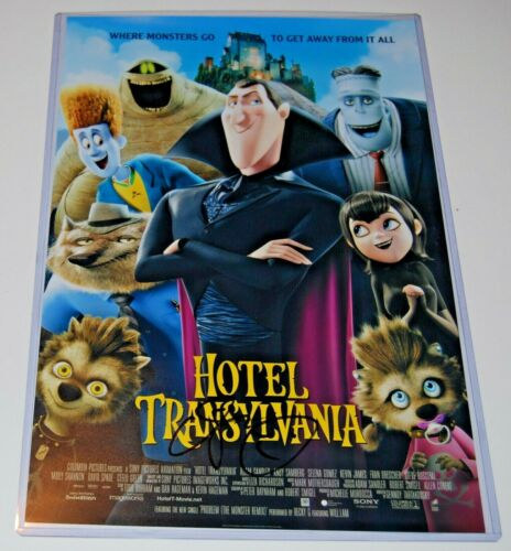 ADAM SANDLER signed (HOTEL TRANSYLVANIA) 12X18 Movie poster photo W/COA *DRACULA