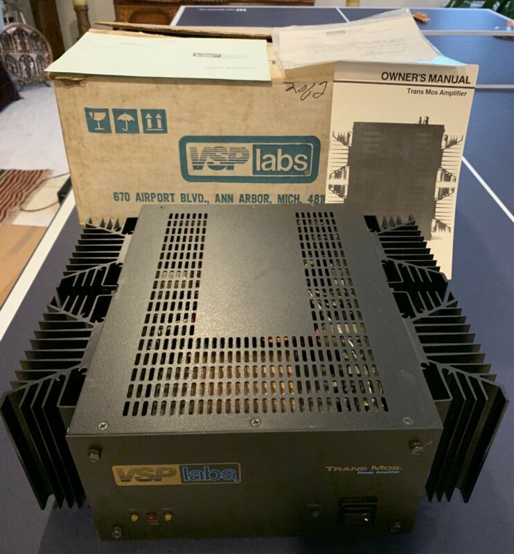 Vintage VSP Labs Trans MOS Power Amplifier