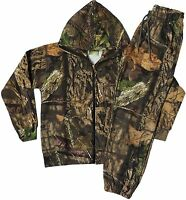 Kids Jungle Print Camouflage Tree Combat Sweat Hooded Top And Jogging Bottom Set - country wear - ebay.co.uk