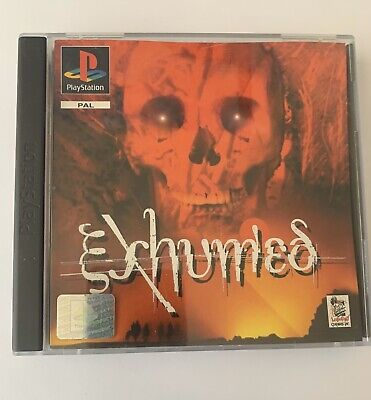 RARE AND COLLECTIBLE SONY PS1 GAME PS2 PS3 COMPATIBLE EXHUMED PLAYSTATION 1 for sale  Shipping to Nigeria
