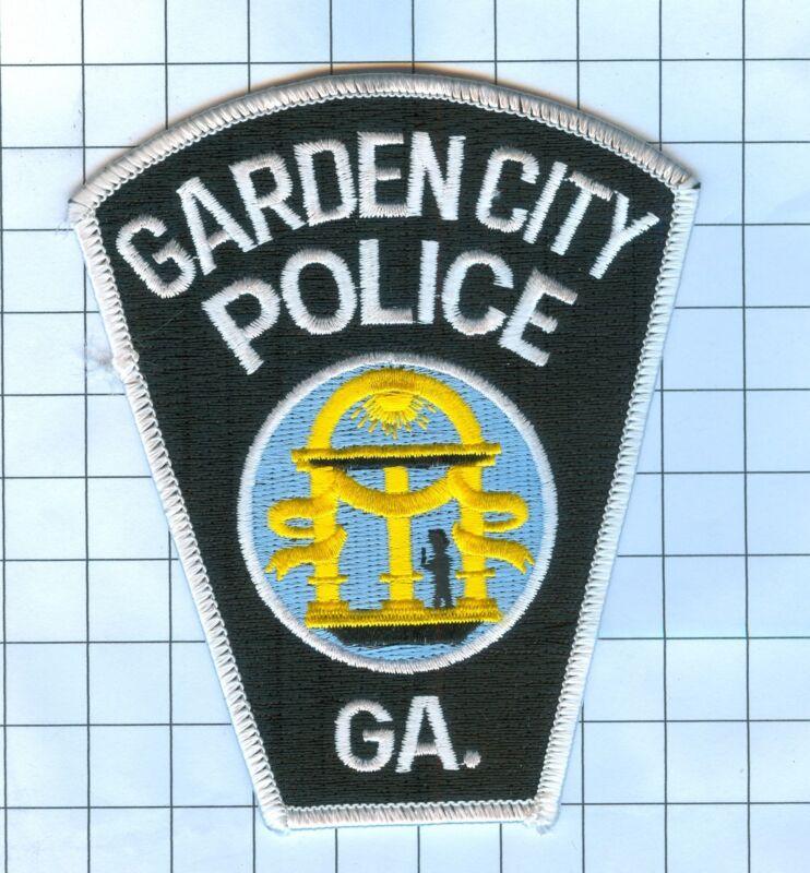Police Patch  - Georgia - Garden City