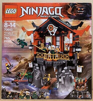 LEGO Ninjago Temple of Resurrection - 70643 - New in Box