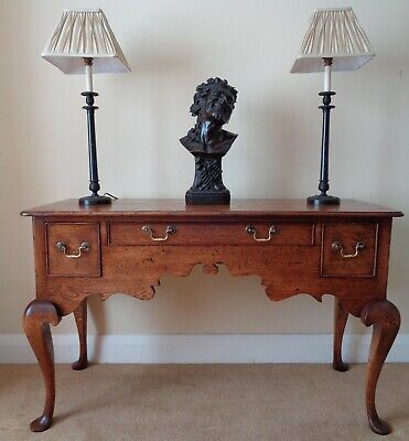 BRYN HALL OAK SIDE TABLE DRESSER SIDEBOARD HALL CONSOLE DRESSING ANTIQUE STYLE