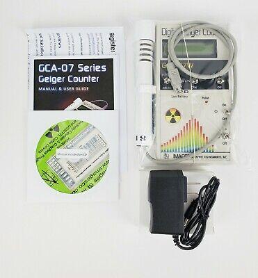 Gca-07w Digital Geiger Counter New