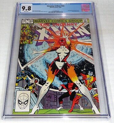 X-Men #164 CGC Universal Grade Comic 9.8 Carol Danvers Becomes Binary Brood App.