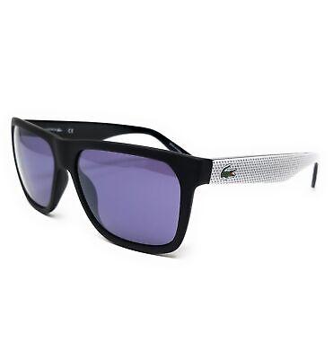LACOSTE Sunglasses L732S 002 Matte Black Modified Rectangle Unisex 56x15x140