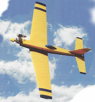 Fox Mk-II Aerobatic Sport Airplane Plans,Templates and Instructions