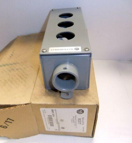 Allen Bradley Pendant Push Button Enclosure 800t-3py
