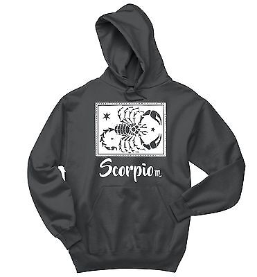 Scorpio Horoscope Sweatshirt October November Birthday Gift Hoodie