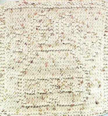 Brand New Hand Knit I Love My Corgi Dog Dish Cloth For Dog Rescue Charity