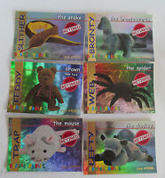 Ty Beanie Baby Rare Set Of 14 Red Collector Cards Gift 1998 Ty Club - ty trading cards - ebay.co.uk