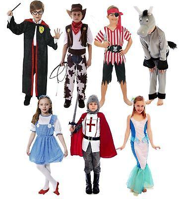 Childrens Fancy Dress Costumes Boys Girls Book Week Play Dress Up - Girls Book Costumes