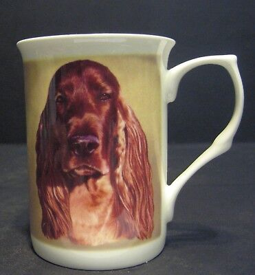 Irish Setter Dog Fine Bone China Mug Cup Beaker