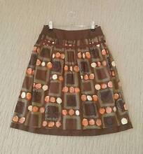 As new brown/orange skirt Size:8 Harrison Gungahlin Area Preview