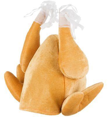 TURKEY HAT ROAST Bird Brain Christmas Party Fancy Dress Office Joke GIFT UK