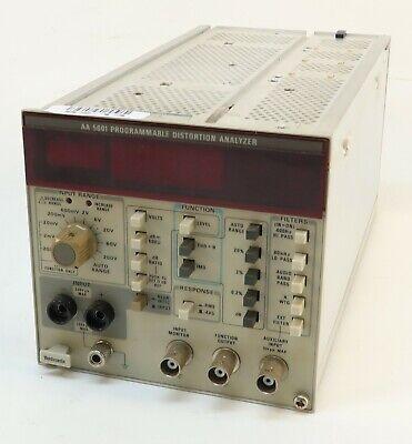 Tektronix Aa 5001 Programmable Distortion Audio Analyzer