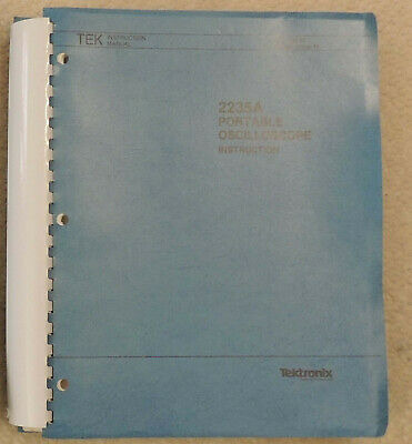 Tektronix 2235a Oscilloscope Userservice Manual