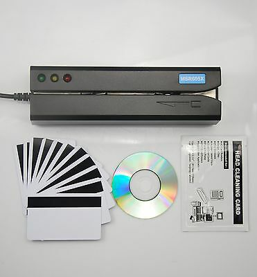 Magnetic Stripe Encoder Credit Card Reader Writer Swipe Mag Stripe Usb Swipe