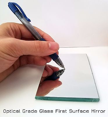 8 X8  Glass First Surface Mirror   96  Reflective Optical Grade   1 4  Thick