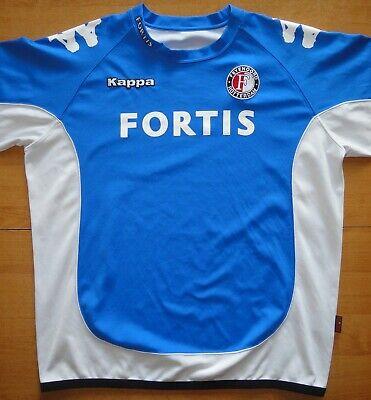 2006/07 Feyenoord Netherlands Away Kappa Size XL Football Shirt Jersey  image