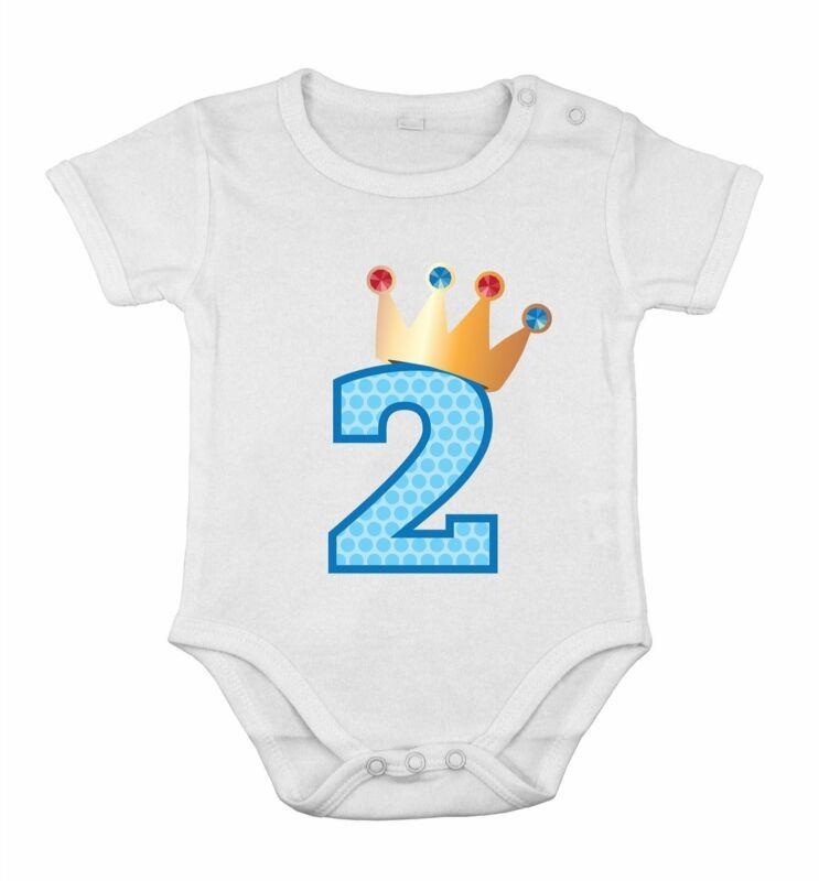 Second Birthday Baby Cotton Girl Newborn Romper princess