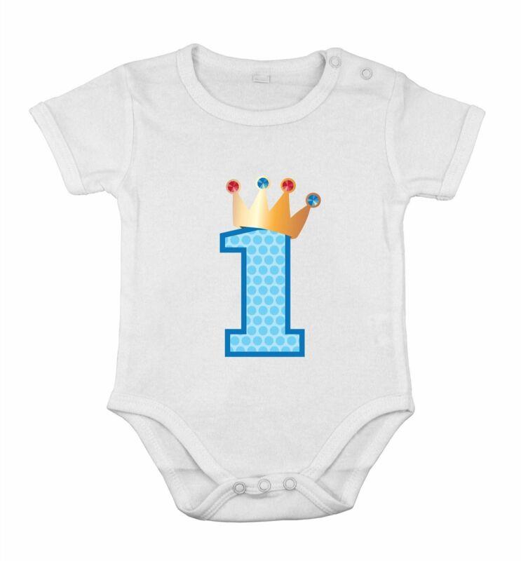 First Birthday Baby Cotton Boy Newborn Romper princess