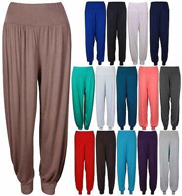 Ladies WOMENS New HAREM TROUSERS ALI BABA LONG PANTS BAGGY  LEGGINGS PLUS size