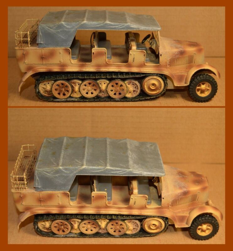 King & Country Early German Sd. Kfz. 7 Prime Mover
