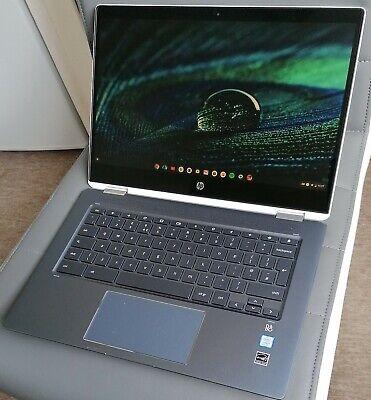 HP 14-da0000na Chromebook x 360 14in (64GB eMMC 8GB RAM Intel Core i3 8th.Gen