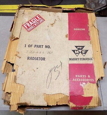 Vintage Nos Massey Ferguson 35 Sp Combine Radiator 223331 M2  Mf