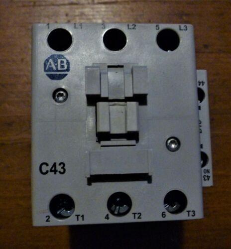 Allen Bradley Contactor 100-C43*00