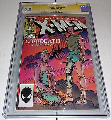Uncanny X-Men #186 CGC SS 9.8 Signature Autograph STAN LEE Forge Appearance