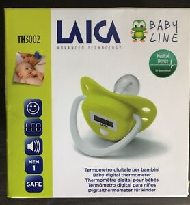 Laica baby digital thermometer pacifier