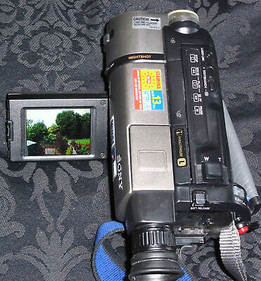 Sony Hi8Camcorder 8mm CCD-TRV46E,Paranormal investigation Infra Green Night Mode