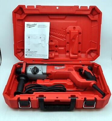 New Milwaukee 5262-21 Sds Rotary Hammer Drill Cement Concrete Redheads 8a Tools