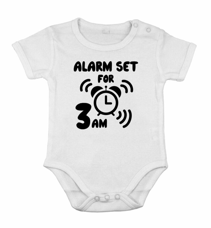 Baby alarm set for 3 am