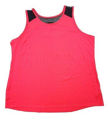 Women's Zone Pro Plus Size 3X Tank Top Sleeveless Top On the go Wear Tank Top