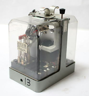 Ansaldo Sts Union Switch Signal Inc. Pv-250 Two-element Ac Vane Relay