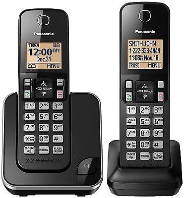 Dual Handset Expandable Phone System (Panasonic Kx-tgc352b Expandable Cordless Phone System [double-handset System] )
