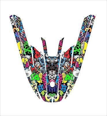 Used, kawasaki 650 sx  jet ski wrap graphics pwc stand up jetski decal kit graffiti for sale  Shipping to South Africa