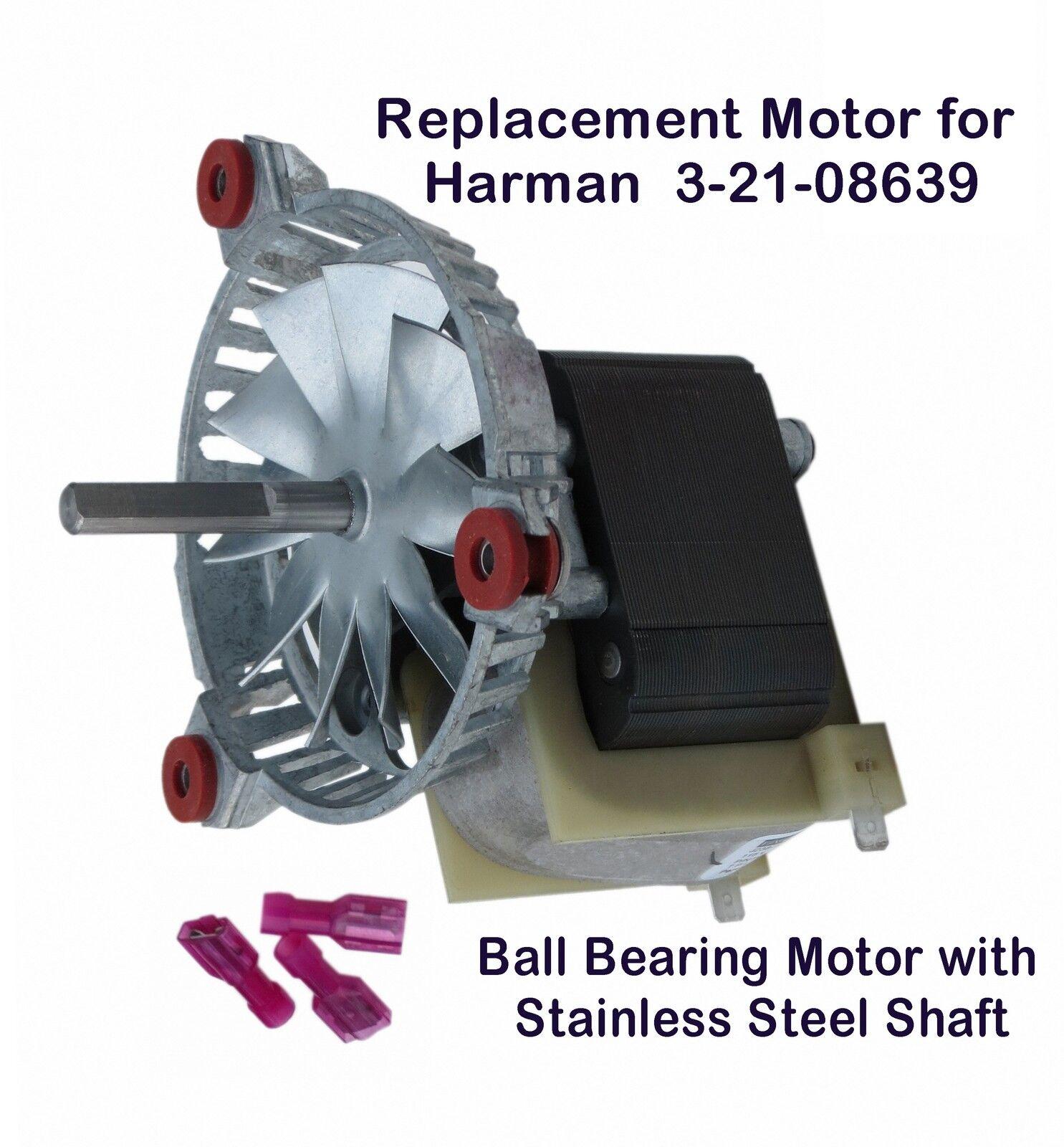 HARMAN PELLET STOVE EXHAUST- COMBUSTION BLOWER MOTOR [PP7613] - 3 ...