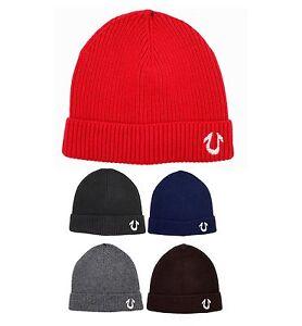 true religion brand jean mens winter soft cashmere watchcap beanie hat tr1704. Black Bedroom Furniture Sets. Home Design Ideas