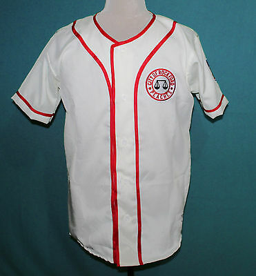 A LEAGUE OF THEIR OWN BASEBALL MOVIE JERSEY BETTY HORN SPAGHETTI  WHITE ANY
