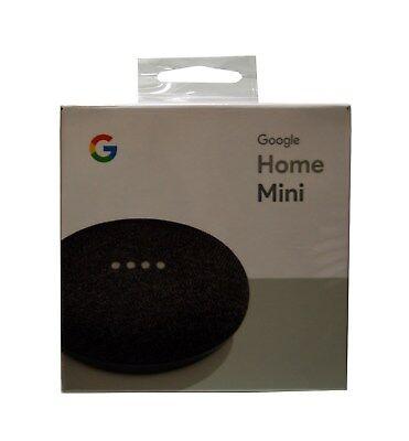 Google Home Mini Digital Media Streamer - Charcoal