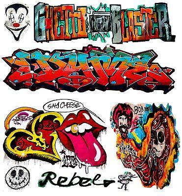 O Scale Custom Graffiti Decals #19 - Weather Your Box Cars, Gondolas & Hoppers!