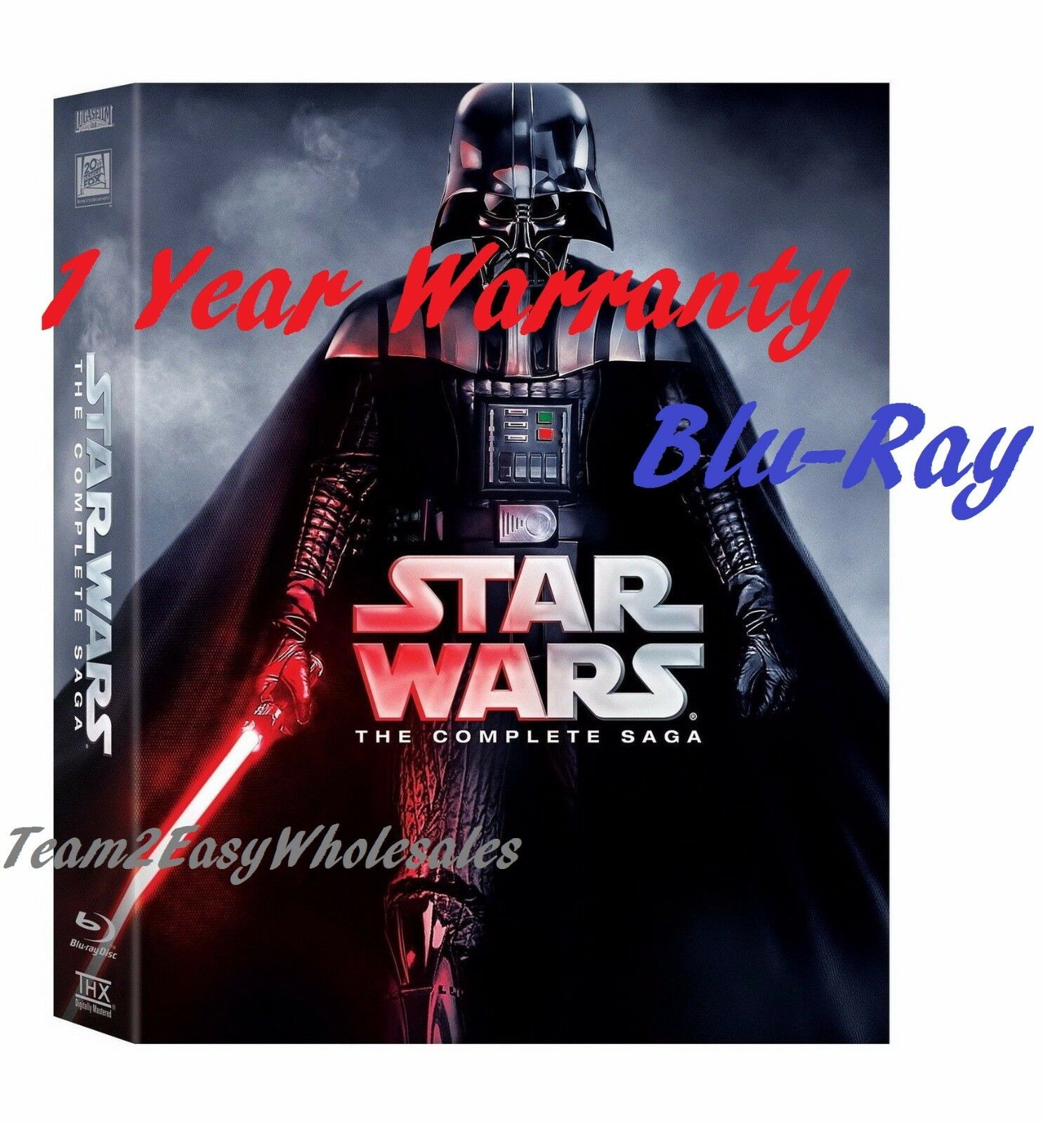 Купить BRAND NEW Star Wars: Complete Saga episodes 1-6 Movie Box Set 9-Disc Blu-Ray