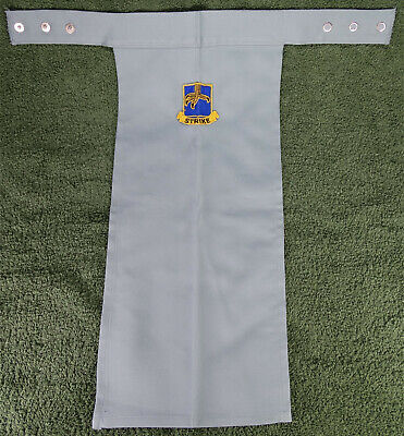 US Army , Light blue STRIKE 1979 , Scarf BIB-Type Insignia BOS Branch of Service - Type Of Service