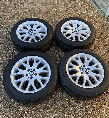 BMW X5 19 inch alloy wheels 9J19 6774396 Winter tyres Bridgestone